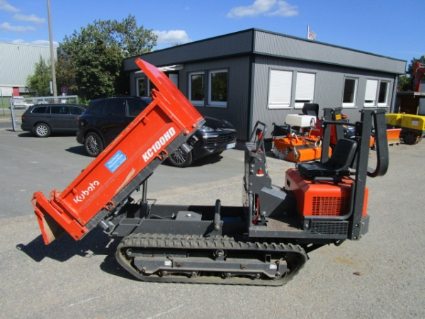 Kubota Transportraupe KC 100 HD